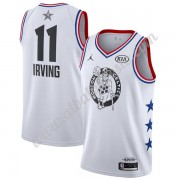 Camisetas NBA Baratas Boston Celtics 2019 Kyrie Irving 11# Blanco All-Star Game Finished Swingman..